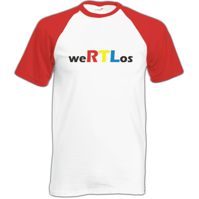 Motiv: Baseball-T FAIR WEAR - weRTLos
