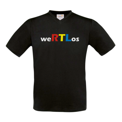 Motiv: T-Shirt V-Neck FAIR WEAR - weRTLos