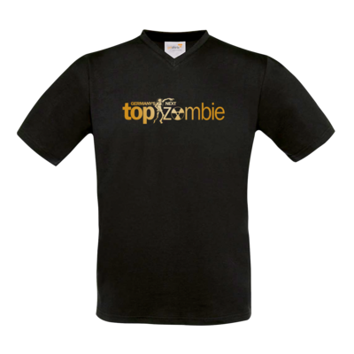 Motiv: T-Shirt V-Neck FAIR WEAR - Germanys Next TopZombie