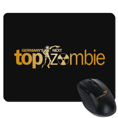 Motiv: Mousepad Textil - Germanys Next TopZombie