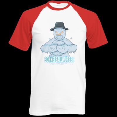 Motiv: Baseball-T FAIR WEAR - Schneeballwuerger