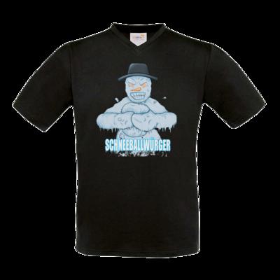 Motiv: T-Shirt V-Neck FAIR WEAR - Schneeballwuerger