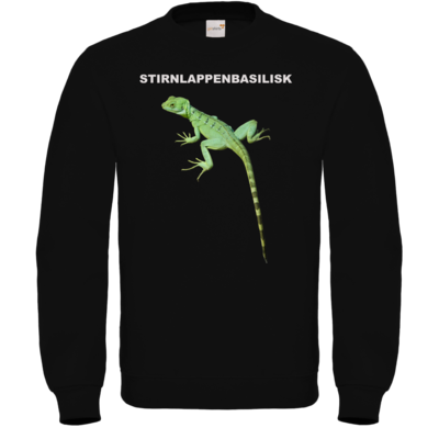 Motiv: Sweatshirt FAIR WEAR - Stirnlappenbasilisk