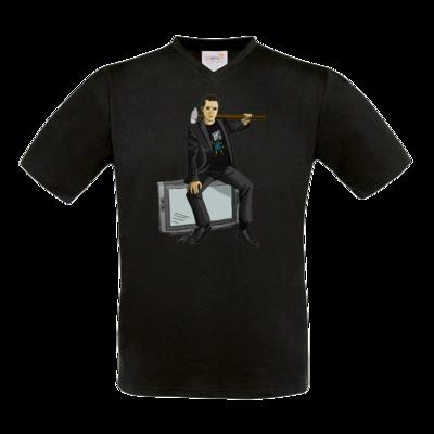 Motiv: T-Shirt V-Neck FAIR WEAR - Holger - Hammermann