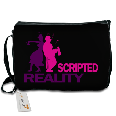 Motiv: Schultertasche - Scripted Reality