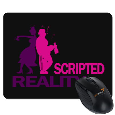 Motiv: Mousepad Textil - Scripted Reality