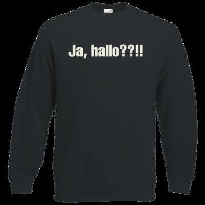 Motiv: Sweatshirt Classic - ja hallo