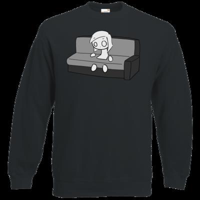 Motiv: Sweatshirt Classic - DarkViktory Couch Woman