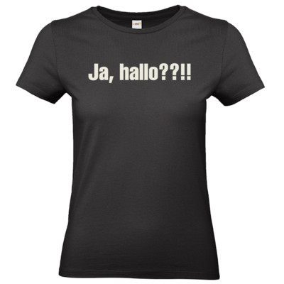 Motiv: T-Shirt Damen Premium FAIR WEAR - ja hallo