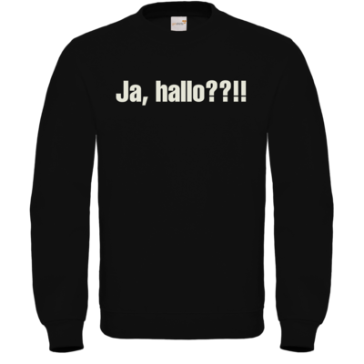 Motiv: Sweatshirt FAIR WEAR - ja hallo
