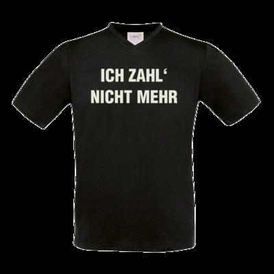 Motiv: T-Shirt V-Neck FAIR WEAR - ich zahl nicht mehr