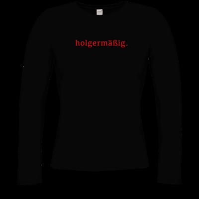 Motiv: Longsleeve Damen FAIR WEAR - Holgermaessig