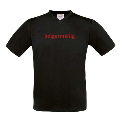 Motiv: T-Shirt V-Neck FAIR WEAR - Holgermaessig