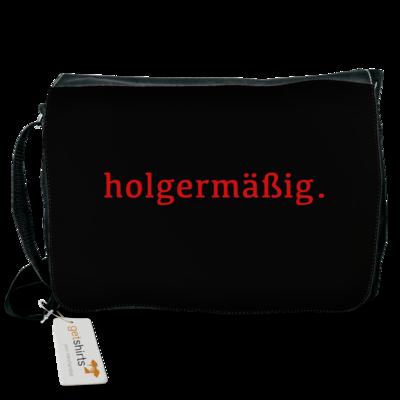 Motiv: Schultertasche - Holgermaessig