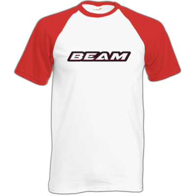Motiv: Baseball-T FAIR WEAR - Beam Logo