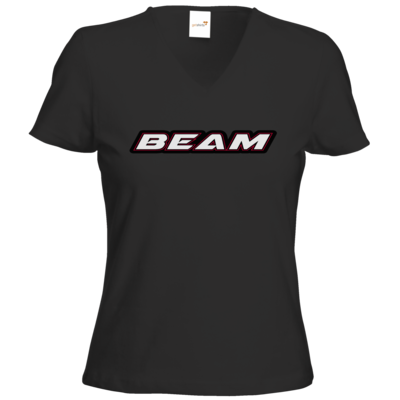 Motiv: T-Shirts Damen V-Neck FAIR WEAR - Beam Logo