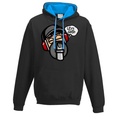 Motiv: Two-Tone Hoodie - Lets sleep