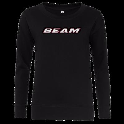 Motiv: Girlie Crew Sweatshirt - Beam Logo