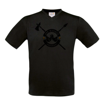Motiv: T-Shirt V-Neck FAIR WEAR - Annunaki dunkel