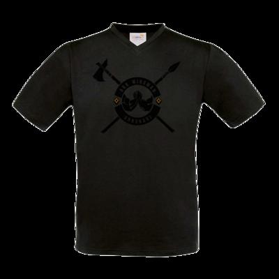 Motiv: T-Shirt V-Neck FAIR WEAR - Annunaki dunkel