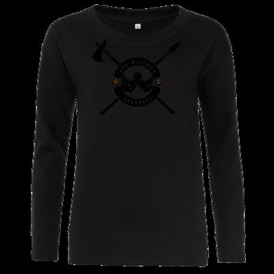 Motiv: Girlie Crew Sweatshirt - Annunaki dunkel