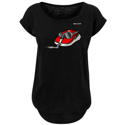 Motiv: Ladies Long Slub Tee - Maus