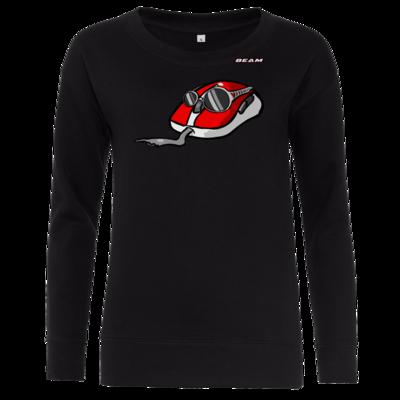 Motiv: Girlie Crew Sweatshirt - Maus