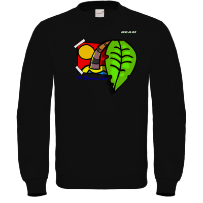 Motiv: Sweatshirt FAIR WEAR - Palmenbaumblatt
