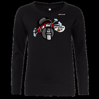 Motiv: Girlie Crew Sweatshirt - Rage