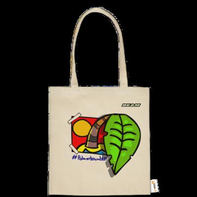 Motiv: Baumwolltasche - Palmenbaumblatt
