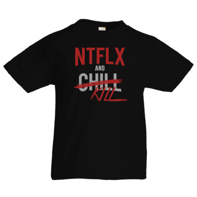 Motiv: Kids T-Shirt Premium FAIR WEAR - NTFLX