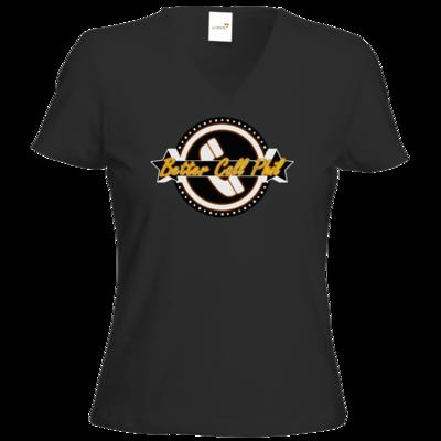 Motiv: T-Shirt Damen V-Neck Classic - Philmann - Better Call Phil