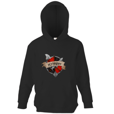 Motiv: Kids Hooded Sweat - Krieger