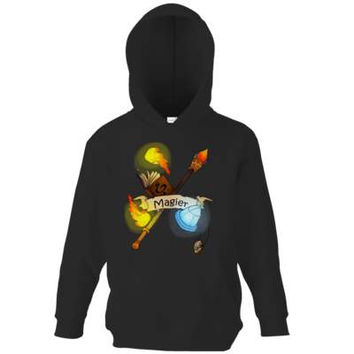 Motiv: Kids Hooded Sweat - Magier