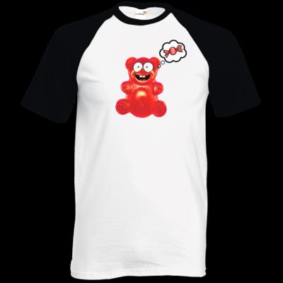 Motiv: TShirt Baseball - Lucky - Candy