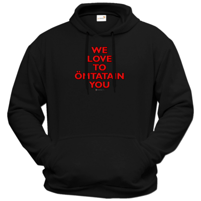 Motiv: Hoodie Premium FAIR WEAR - Ömtatain you