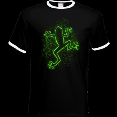 Motiv: T-Shirt Ringer - Frog
