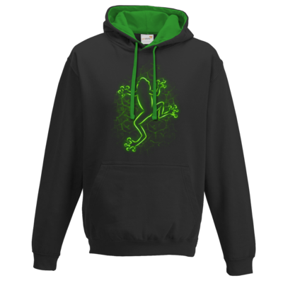 Motiv: Two-Tone Hoodie - Frog