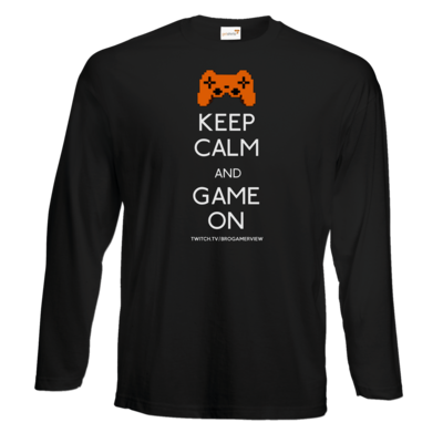 Motiv: Exact 190 Longsleeve FAIR WEAR - Keep Calm Game On