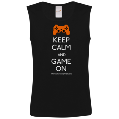Motiv: Athletic Vest FAIR WEAR - Keep Calm Game On
