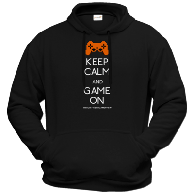 Motiv: Hoodie Premium FAIR WEAR - Keep Calm Game On