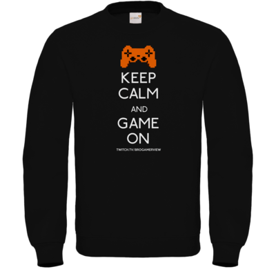 Motiv: Sweatshirt FAIR WEAR - Keep Calm Game On