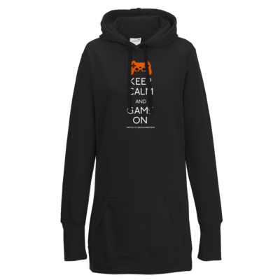 Motiv: Lady Longline Hoodie - Keep Calm Game On