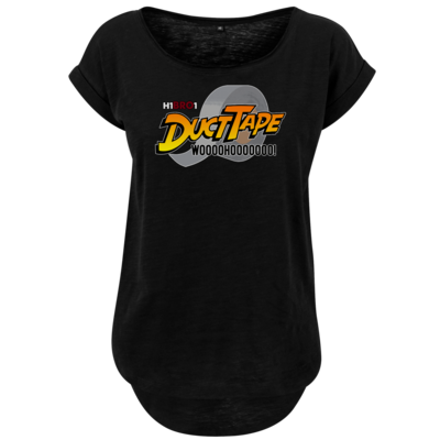 Motiv: Ladies Long Slub Tee - DuctTape