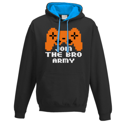 Motiv: Two-Tone Hoodie - Join the Bro Army
