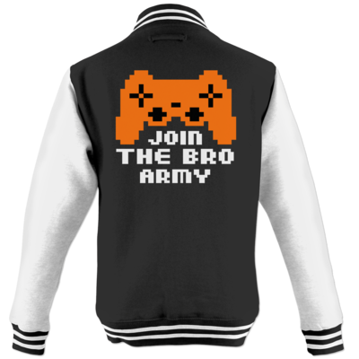 Motiv: College Jacke - Join the Bro Army