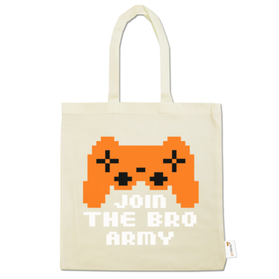 Motiv: Baumwolltasche - Join the Bro Army