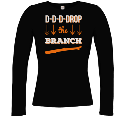 Motiv: Longsleeve Damen FAIR WEAR - Drop the Branch