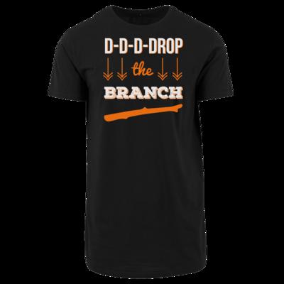 Motiv: Shaped Long Tee - Drop the Branch
