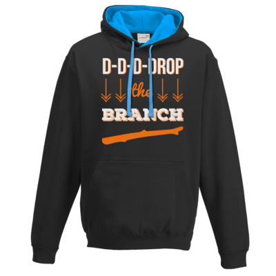 Motiv: Two-Tone Hoodie - Drop the Branch